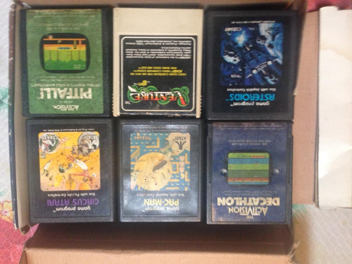 Coleccion Juegos Atari 2600 1 800 00 En Mercado Libre
