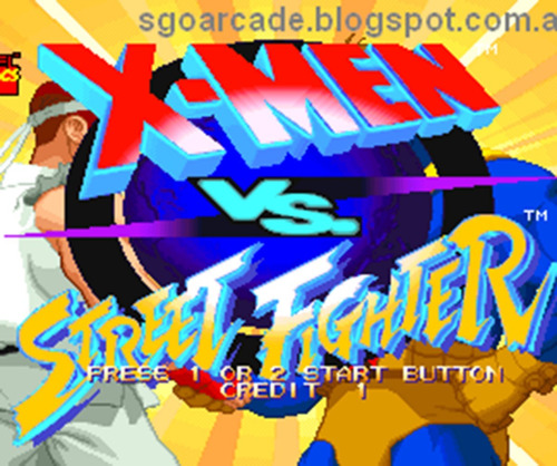 coleccion juegos capcom marvel x-men street fighter android