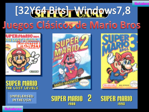 coleccion juegos clasicos de mario bros-pc.envio.email.