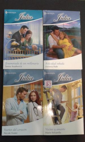 coleccion julia lote x 8 edit harlequin leerrrrrrrrr