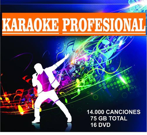 coleccion karaoke profesional,profesores de canto, pubs, bar