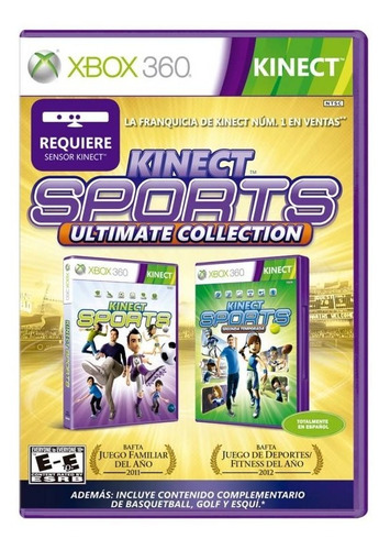 coleccion kinect sports ultimate