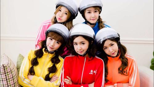 colección kpop - crayon pop - 1 poster