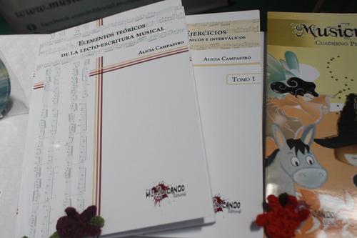 colección lecturas y elementos, alicia campastro | musicando