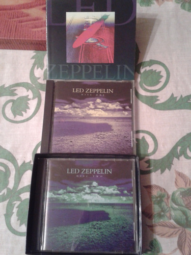 coleccion led zeppelin 4 cd´s y 2 dvd´s