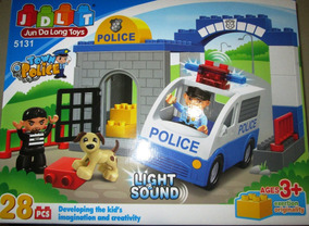 28 Construcción Colección Jdlt Lego Piezas Carro De Policia sdotrCxhQB