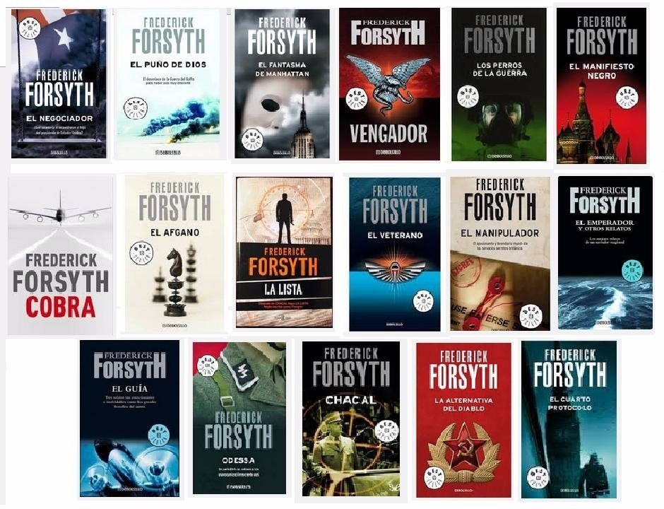 Colecci n libros frederick forsyth novelas de espionaje for Libros de botanica pdf