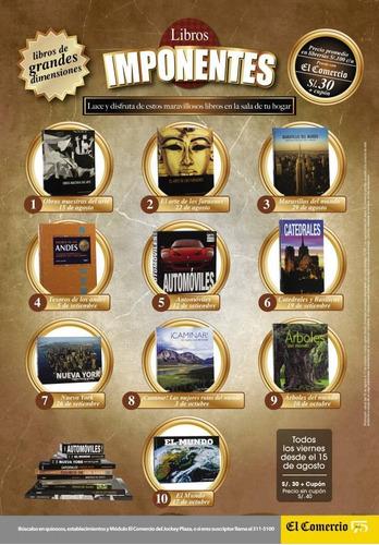 coleccion libros imponentes del comercio