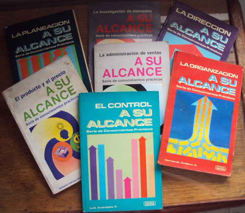 colección libros - todo sobre administración - a su alcance