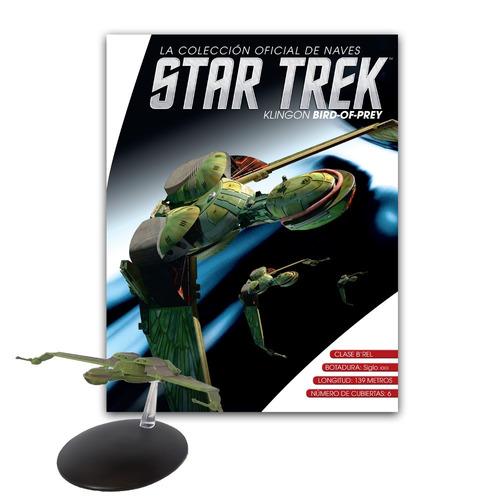 coleccion ln naves startrek n 3 klingon bird-of-prey