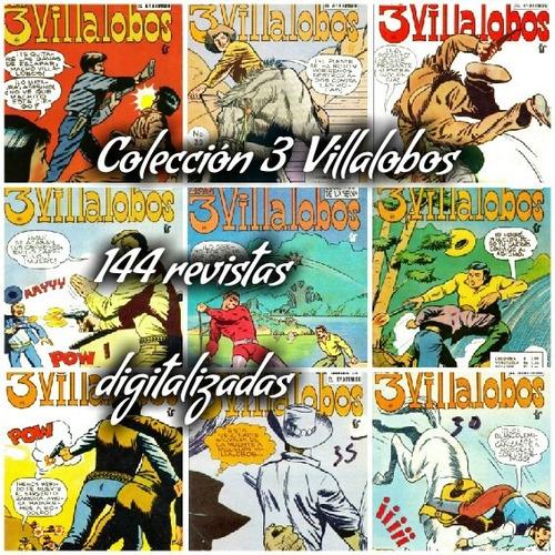 colección los 3 villalobos antiguas revistas digitalizadas