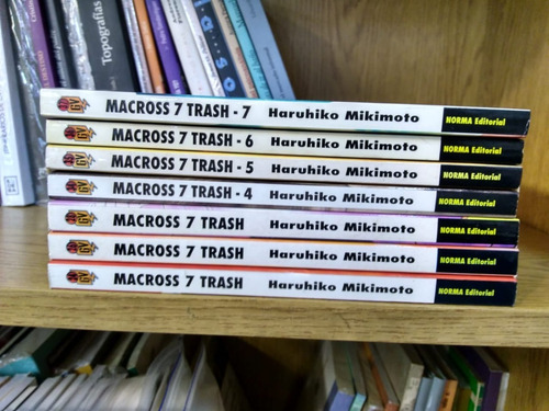 coleccion macross 7 - 7 tomos - manga