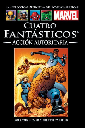 coleccion marvel fantasticos