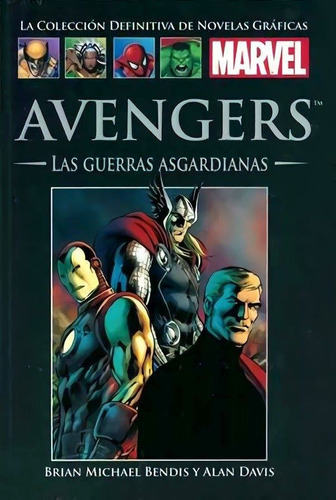 coleccion marvel salvat: guerras asgardianas