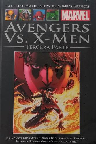 colección marvel salvat - n° 128 avengers vs x-men parte 3