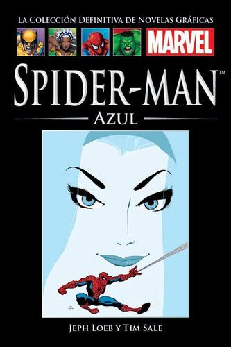 coleccion marvel salvat -  spiderman azul