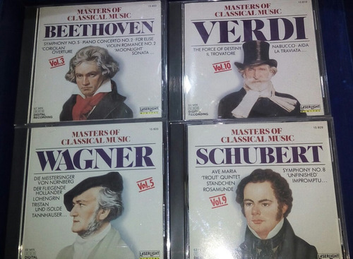 colección masters of clasical music