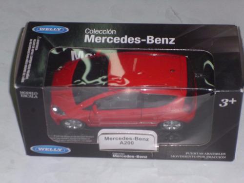 coleccion mercedes benz(mercedes benz a200) esc 1:36