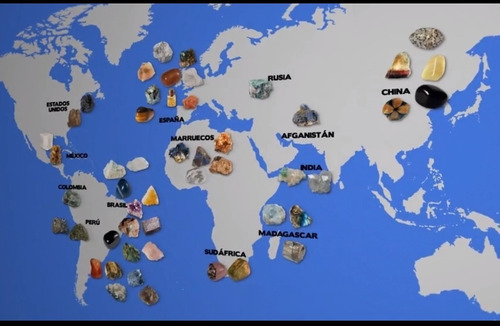coleccion minerales nº 06 fluorita
