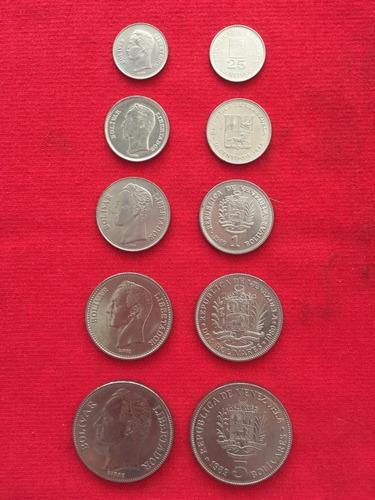 colección monedas año