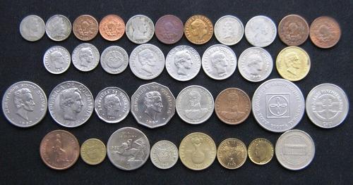 colección monedas colombia