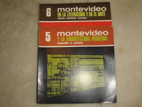 coleccion  montevideo  de nuestra tierra (8 volúmenes) 1968