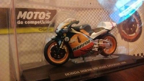 colección motos de competición grijalbo n°2 honda nsr500 '98