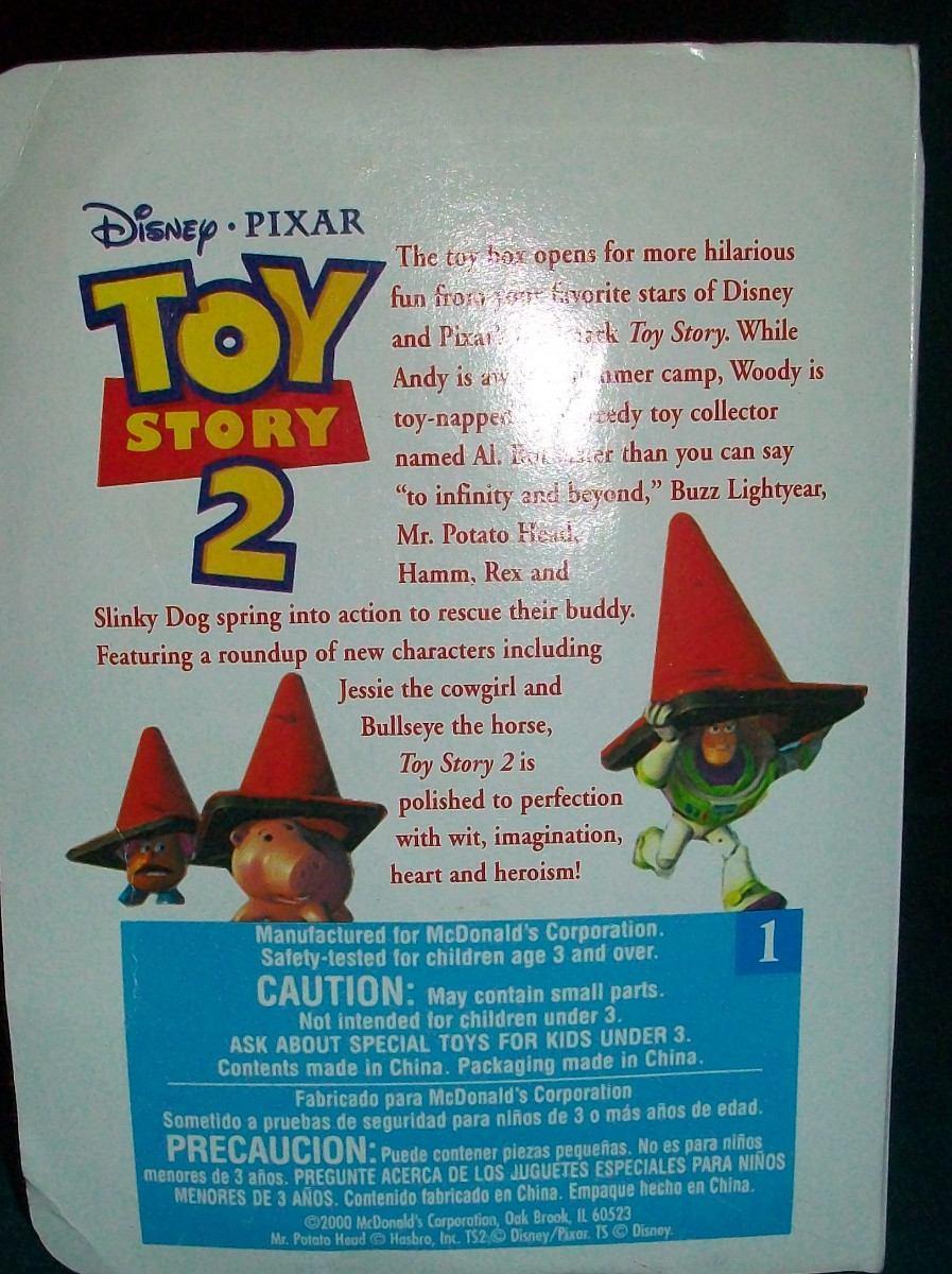 00fffdfdc36a8 Cargando zoom... toy story coleccion mc donald s usa juguete muñeco figura