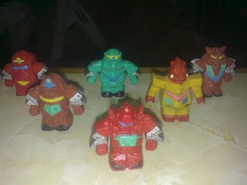coleccion muñequitos robot, curiosidades