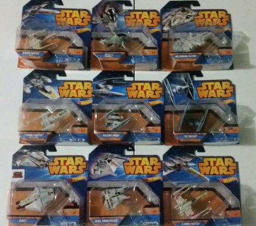 colección naves star wars