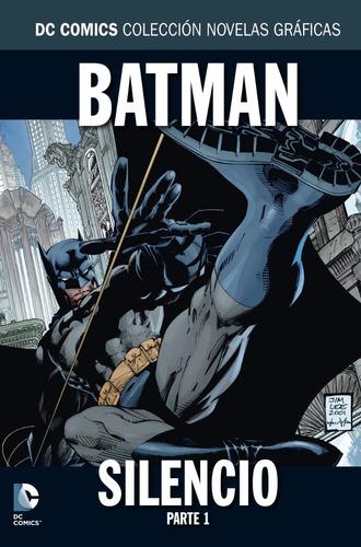 colección novelas gráficas salvat : batman silencio parte 1