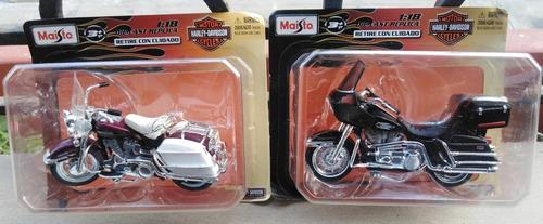 coleccion oficial motos harley davidson maisto 1:18 die cast
