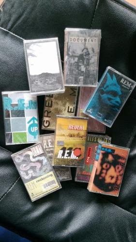 coleccion original rem en cassette nuevos!