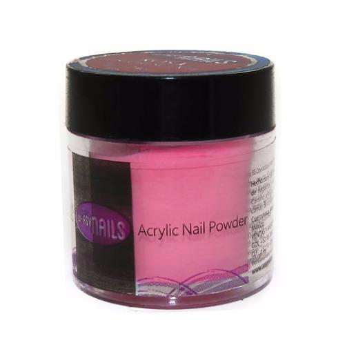 colección polvo de uñas acrilicas fosforescente easy nails
