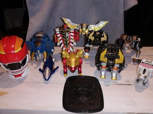colección power rangers wild force