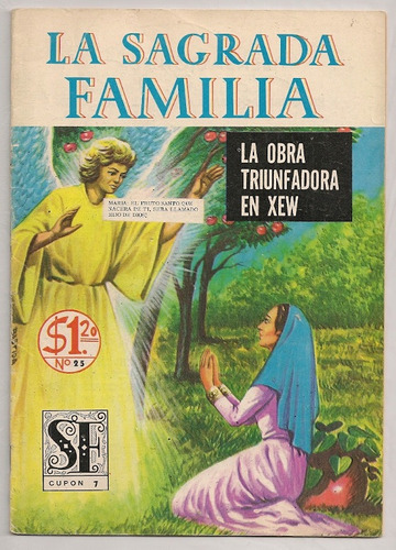 colección radio xew 16 comics la sagrada familia de 1972