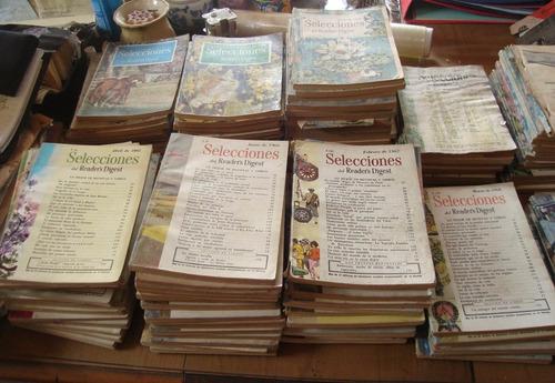 colección reader´s digest revistas eeuu antiguas + de 150u