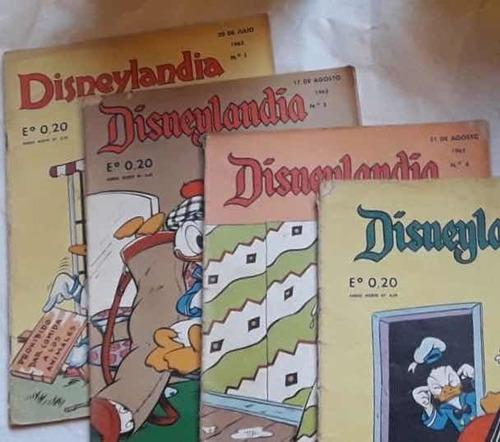 colección revista disneylandia 1962