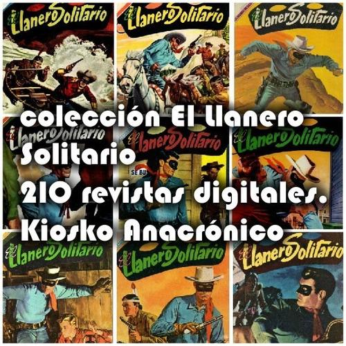 colección revistas antiguas  el llanero solitario