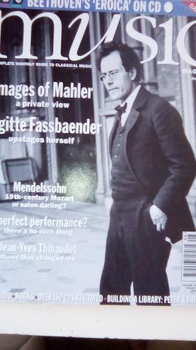 coleccion  revistas music magazine en ingles