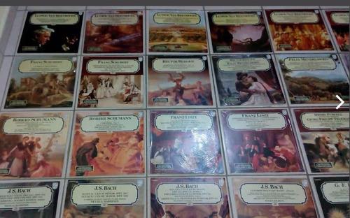colección salvat grandes compositores clásica 65 vinilos