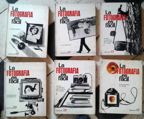 colección seis tomos fotografía afha curso análogo