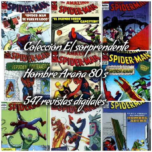 coleccion sorprendente hombre araña 547 revistas digitales
