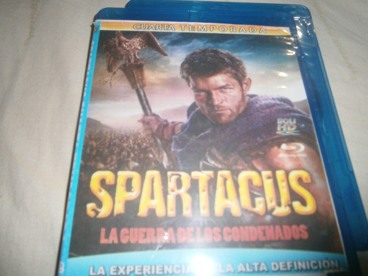 Coleccion Spartacus Completa Bluray Hd - Bs. 700.000,00 en Mercado Libre
