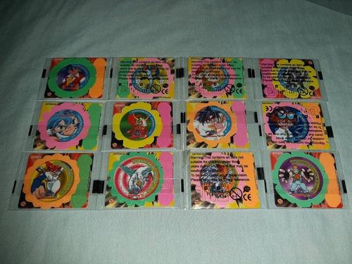 colección spinners beyblade no taps tazo pokemon yokos chipy