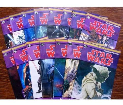 colección star wars clarín 15 tomos prestige completa