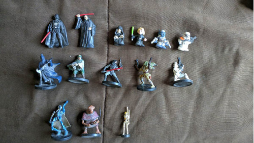 coleccion star wars micromachines / action fleet