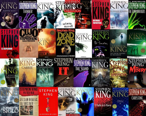 colección stephen king. 70 libros (ebook) para android & ios