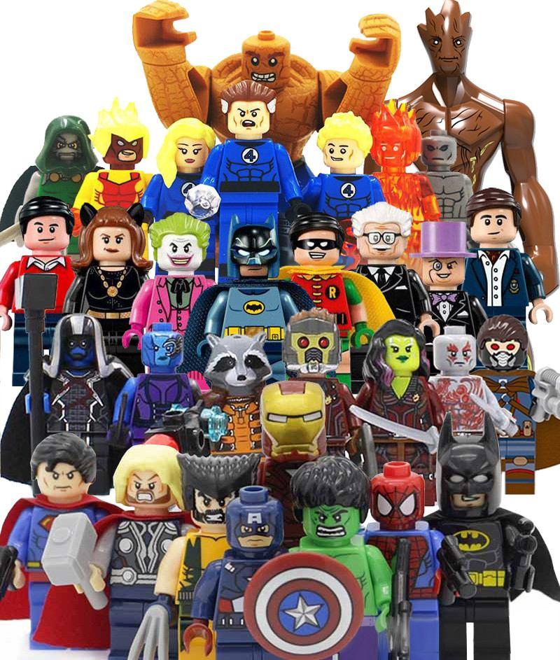 comprar muñequitos de super heroes en amazon
