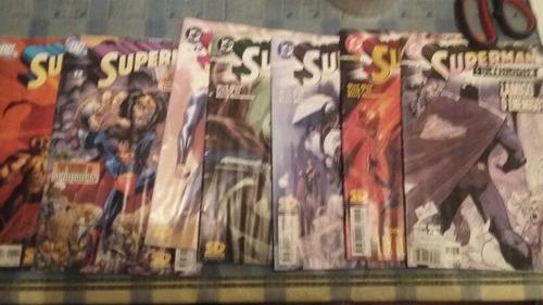 colección  superman dc 34 revistas